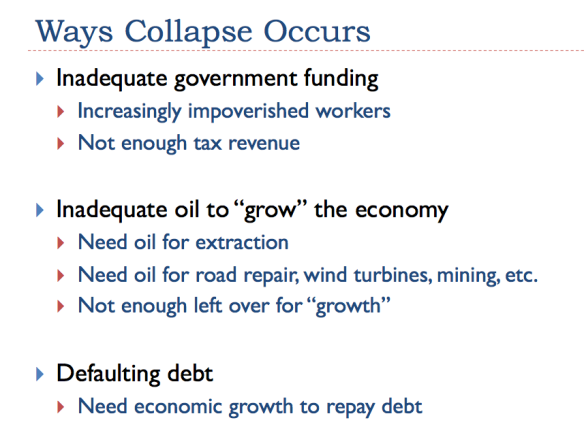 Collapse comes in three ways
