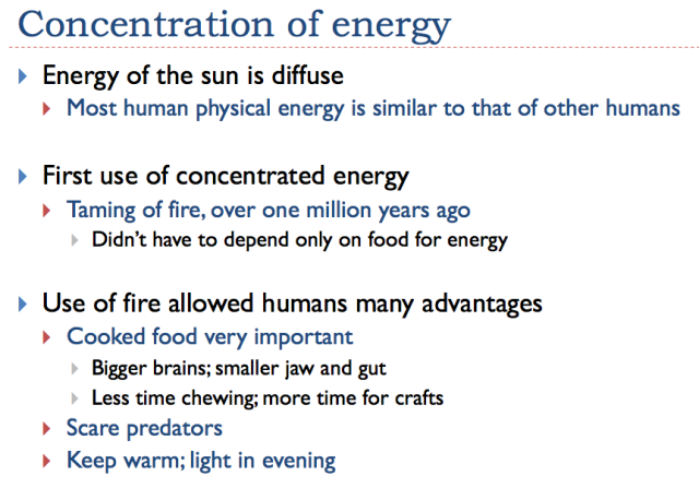 Slide 8. Early use of concentration of energy
