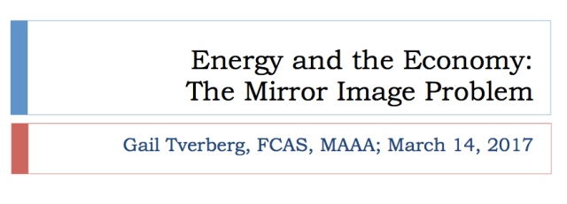 1 energy and the economy mirror image problem