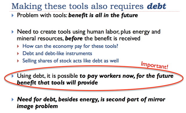 10 making these tools requires debt
