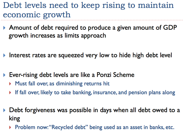 19 debt levels need to keep rising to maintain economic growth