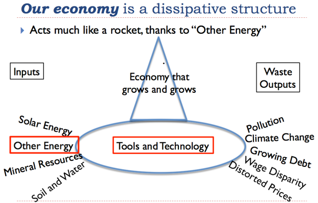 24 our economy is a dissipative structure