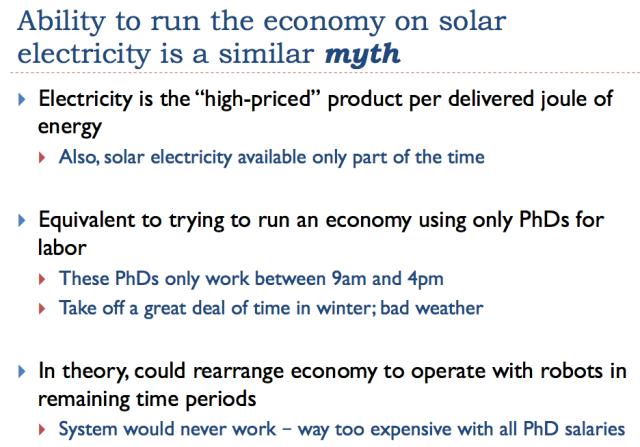 27 ability to run economy on solar is a myth