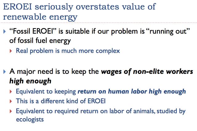 28 eroei seriously overstates value of renewable energy