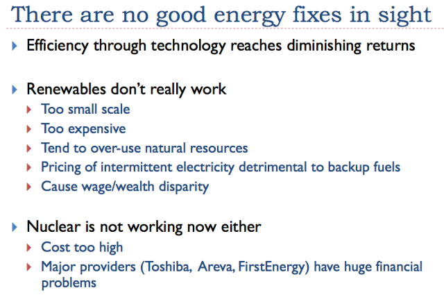 32 no good energy fixes in sight