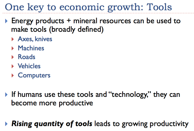 8 one key to economic growth tools