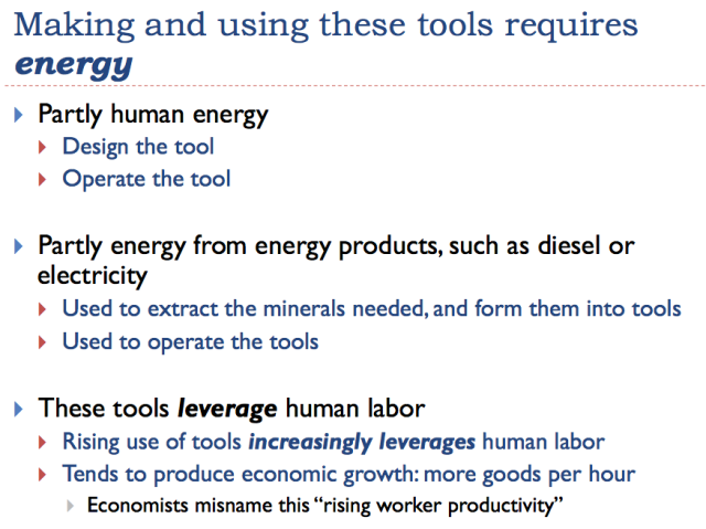 9 making and using tools requires energy