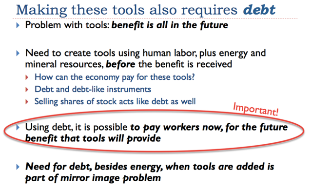 13 making these tools requires debt