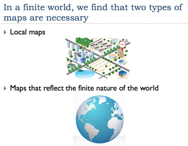 4 two types of maps needed in this world