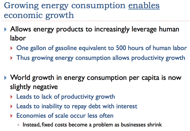 13 growth in energy consumption enables economic growth