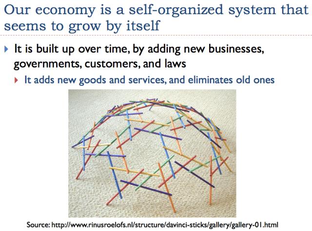2 economy is self organized system