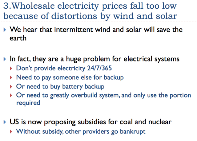 13 wholesale electricity price fall too low because of price distortions caused by wind and nuclear