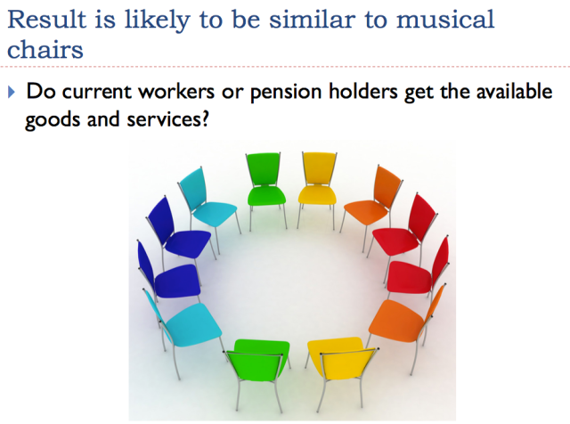 18 result is likely to be like musical chairs
