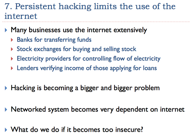 21 persistent hacking limits internet use