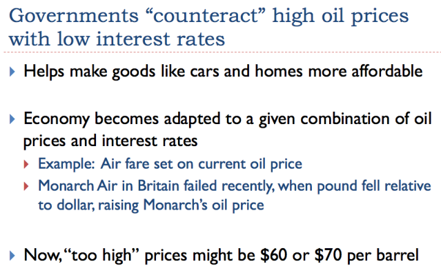 9 governments counteract high oil prices with low interest rates