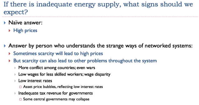 10 if there is inadequate energy supply