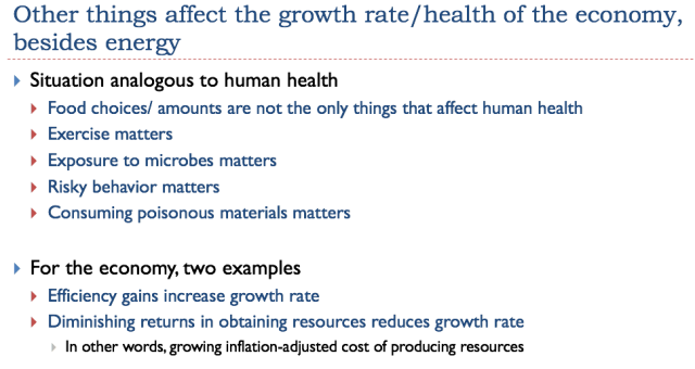 6 other things affect the growth rate