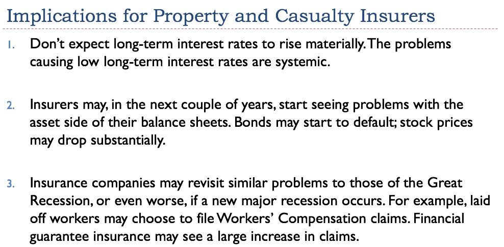 Property Casualty Insurers Association Of America Washington Dc