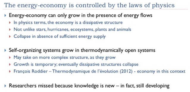 35 The energy economy is controlled by the laws of physics