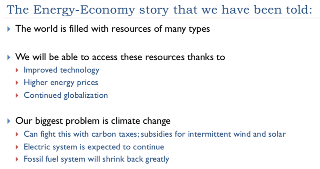 4. The energy economy story overview