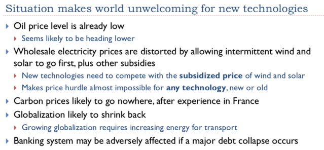 49. Situation makes world unwelcoming for new technologies