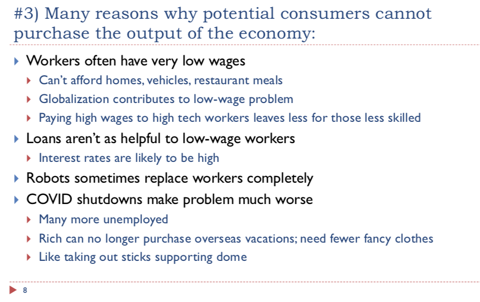slide 8. many reasons why customers cannot purchse output